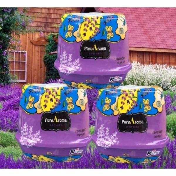 Bộ 3 Sáp thơm phòng khử mùi, ẩm mốc Pure Aroma Hàn Quốc STM4