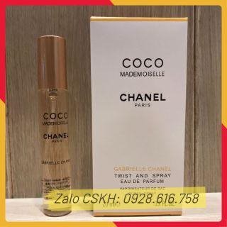 Nước Hoa mini Cao Cấp Coco Mademoiselle 20ml 4D Hương Thơm Quyến Rũ, Nước Hoa Nữ Coco - Bảo hành 12 tháng thumbnail