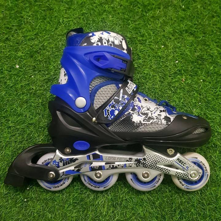 Giá bán giày patin Long Feng 906 phát sáng 2 bánh cao cấp - Tặng kèm 2 đôi tất thể thao