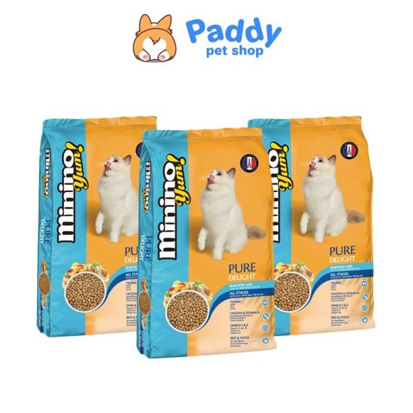 [350g] Thức ăn hạt cho mèo Minino YUM