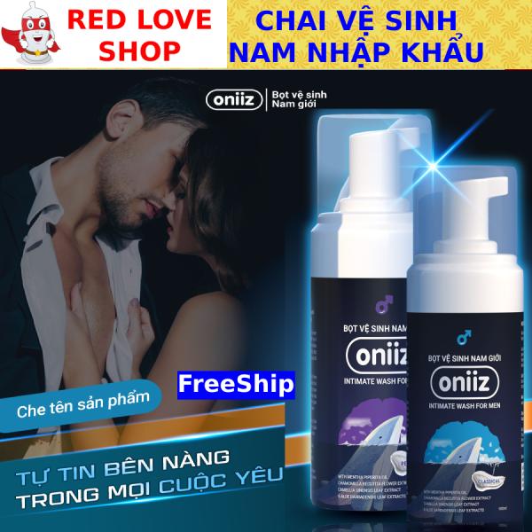 ✅ Chai vệ sinh vùng kín nam Oniiz, Dung dịch vệ sinh nam Oniiz - Công nghệ Hàn Quốc nhập khẩu