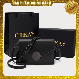 Túi xách nữ đeo chéo cao cấp chính hãng - kiểu túi xách nữ thời trang công sở hoặc đi chơi mẫu mới 2020 CEEKAY thumbnail