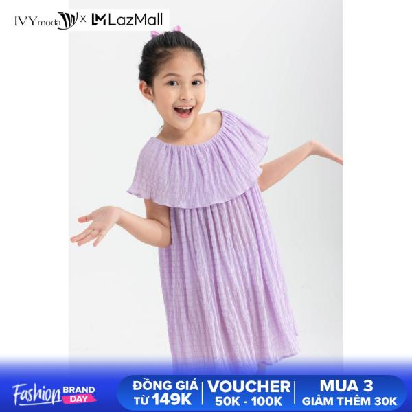 Giá bán Đầm bé gái cổ kiểu IVY moda MS 47G1286