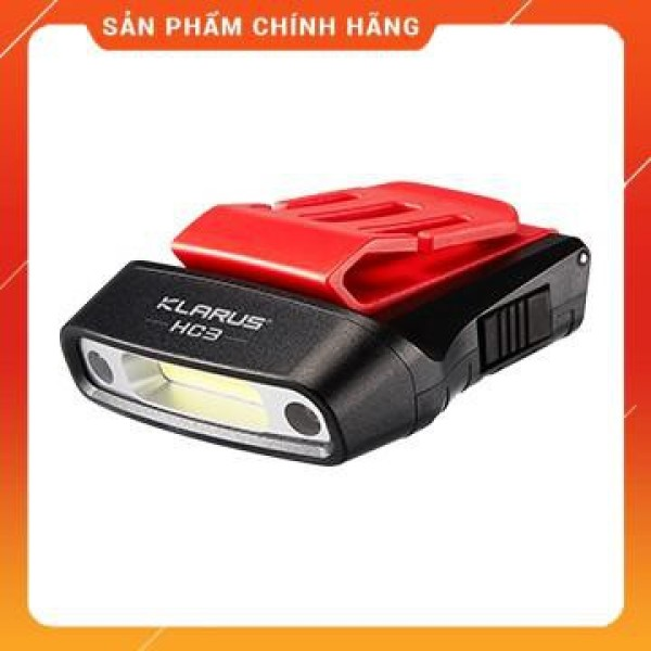Bảng giá KLARUS HC3 - Đèn pin đeo đầu, cài mũ độ sáng 100lm pin tích hợp cổng sạc usb nặng chỉ 37g (pin sạc kèm theo)