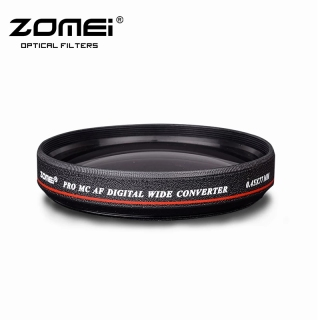 ZOMEI Ultra Slim Thin 67mm 0.45 x Wide Angle Filter Lens Without Dark Corner For Canon 18-105mm 18-135mm Nikon 18-55mm DSLR Lens thumbnail