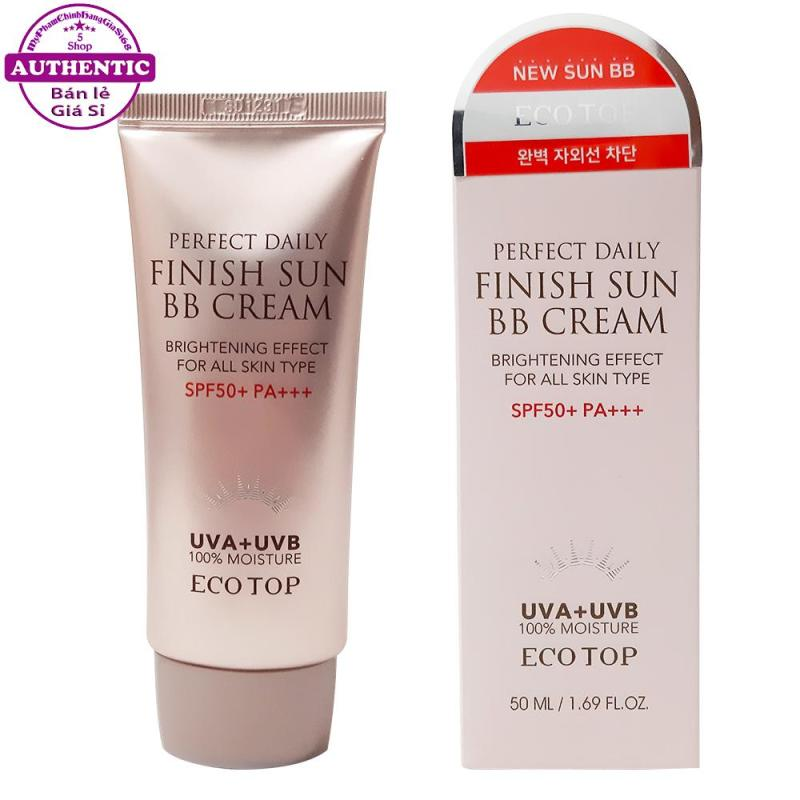 KEM NỀN CHỐNG NẮNG BB CREAM PERFECT DAILY FINISH SUN ECOTOP