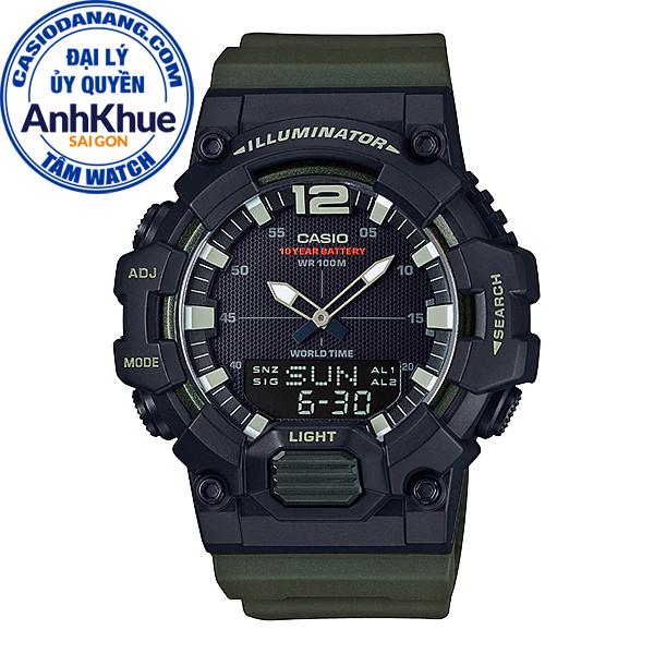 Đồng hồ nam dây nhựa Casio Standard chính hãng Anh Khuê HDC-700-3AVDF (48mm)