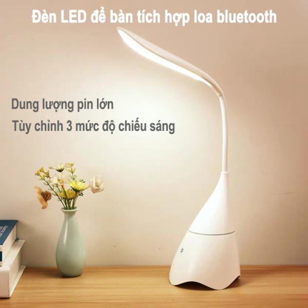 Bảng giá Đèn Học Đèn Để Bàn Chống Cận Có Loa Bluetooth 3 Chế Độ Sáng Tiết Kiệm Điện Công Tắc Cảm Ứng Uốn Cong 360 Độ S01