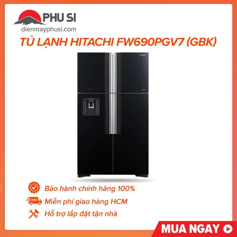 Tủ lạnh hitachi FW690PGV7 (GBK)
