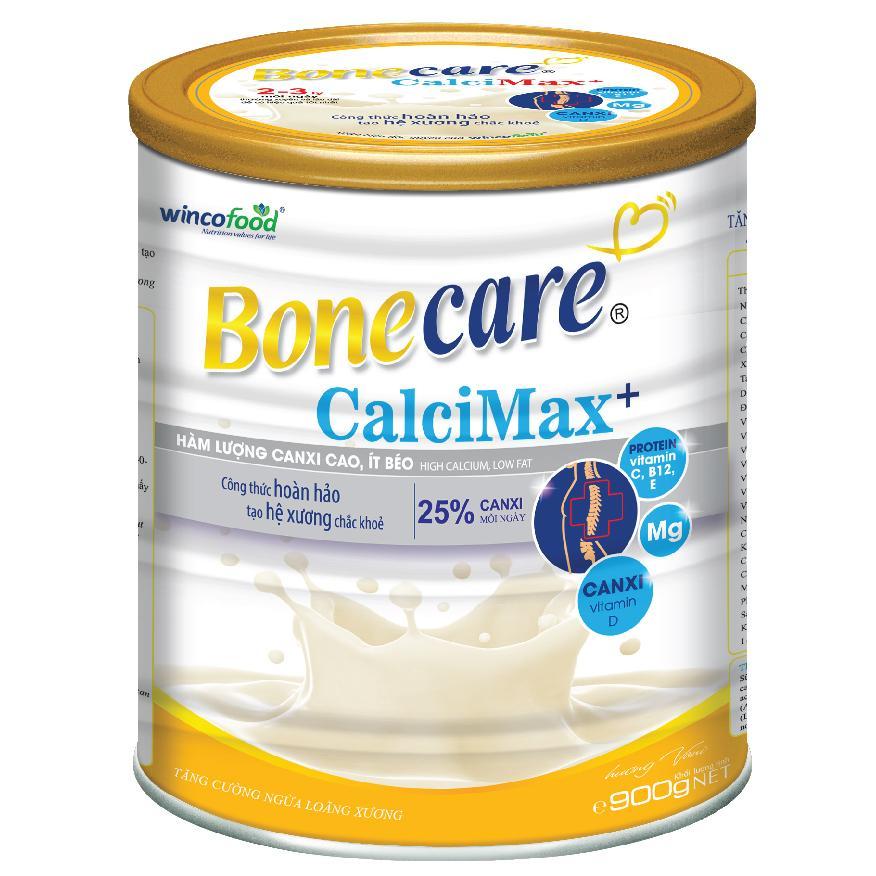 Sữa Bột Bonecare Calcimax+ 900g  Dành Cho Người 18 Tuổi Trở Lên Bổ Sung Canxi Phòng Ngừa Loãng Xương Tim Mạch Và Tiểu đường Đang Giảm Giá