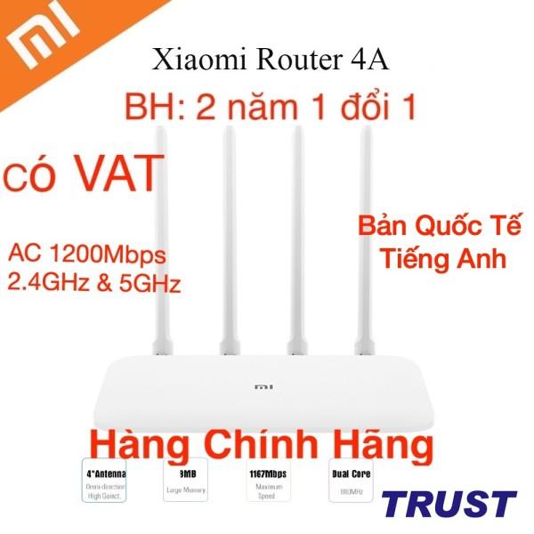 Bảng giá Xiaomi AC 1200Mbps Dualband Bộ Phát Wifi R4AC - Mi Router 4A - Quốc Tế Tiếng Anh-BH 2 năm 1 đổi 1-Hàng Chính Hãng Phong Vũ