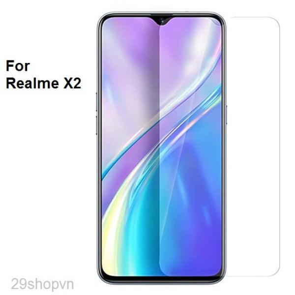 Kính cường lực Realme X2 (Trong suốt)