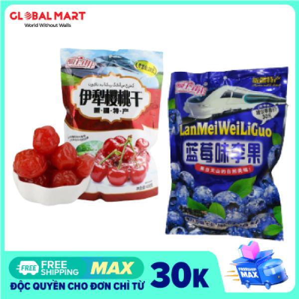 [2 Loại Ô Mai] Combo Ô Mai Việt Quất Và Ô Mai Cherry