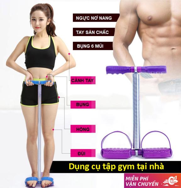 Dụng cụ tập gym ngay tại nhà Dây kéo lò xo Tummy Trimmer, Tiết kiệm thời gian đến phòng tập Rèn luyện sức khỏe mọi lúc mọi nơi. Giảm Giá Cực Sốc 50%.