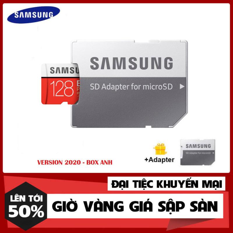 Thẻ nhớ MicroSDXC Samsung Evo Plus 128GB U3 4K R100MB/s W60MB/s - Box Anh New Kèm Adapter New 2021