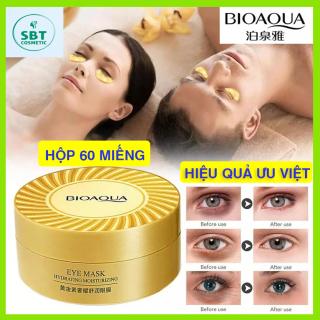 [GIÁ TỐT] Hộp 60 Miếng Mặt Nạ Mắt Collagen Bioaqua-Giảm Quầng Thâm, Dưỡng Trắng Da Vùng Mắt, Dưỡng Ẩm, Chống Lão Hóa thumbnail