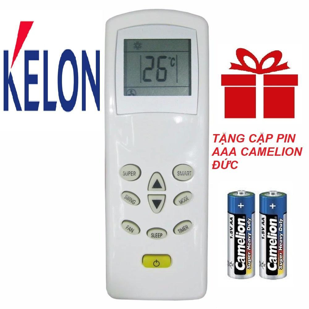 Remote điều khiển máy lạnh KELON mẫu 1