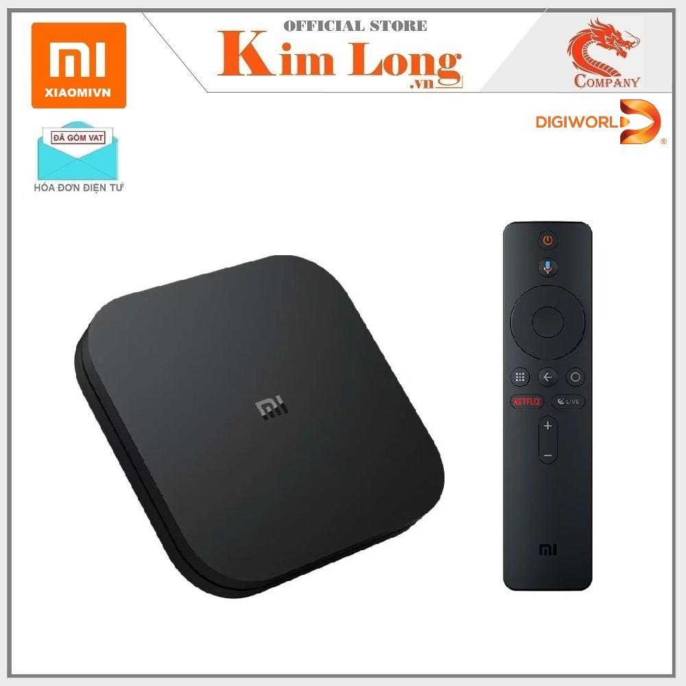 Bảng giá Android TV Box Xiaomi Mibox S 4K Ultra HD Nói tìm kiếm Tiếng Việt - Hãng phân phối
