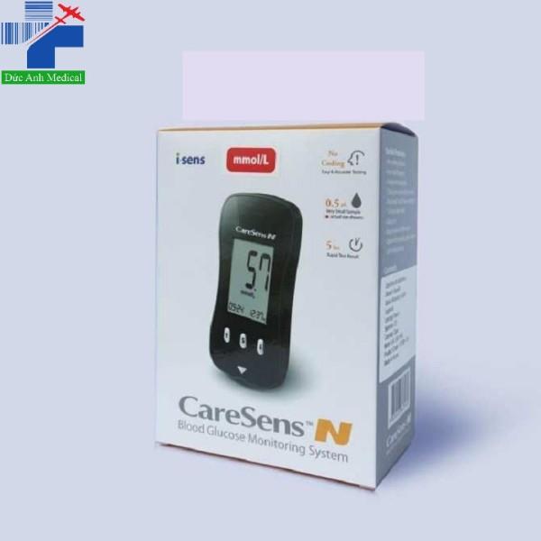 Nơi bán Máy đo đường huyết CaresenS N [tặng que thử + kim lấy máu]