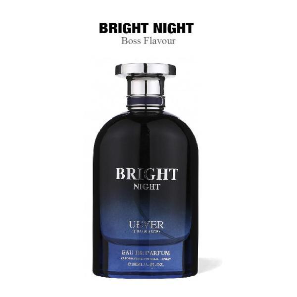 Nước hoa nam cao cấp BRIGHT NIGHT Cologne thương hiệu Pháp UEVER 100ml lưu hương 8 tiếng