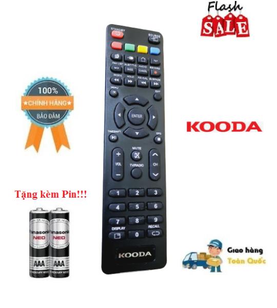 Bảng giá Remote Điều khiển tivi Kooda các dòng LED/LCD/Smart TV- Hàng chính hãng theo TV mới 100% Tặng kèm Pin