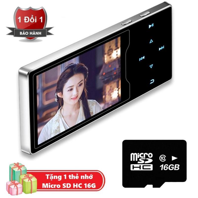 Máy nghe nhạc Ruizu D08 cao cấp màn hình HD 2.4 inch Tặng kèm Thẻ nhớ cao cấp Micro SD 16G