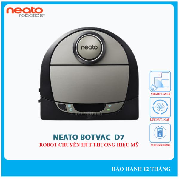 [HCM]Robot hút bụi Neato Botvac D7 Connected chính hãng Bảo hành điện tử 18 tháng.