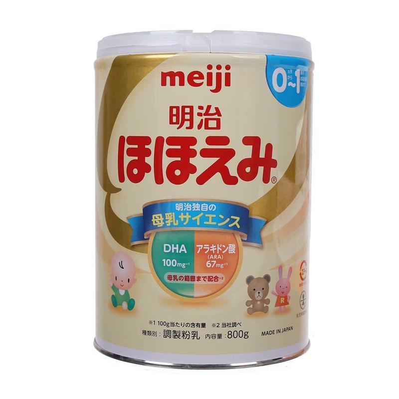 Sữa Meiji số 0 - 800gr (0-1 tuổi)