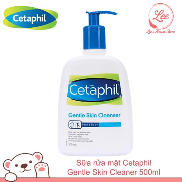 Sữa rửa mặt Cetaphil Gentle Skin Cleaner 500ml nhập khẩu