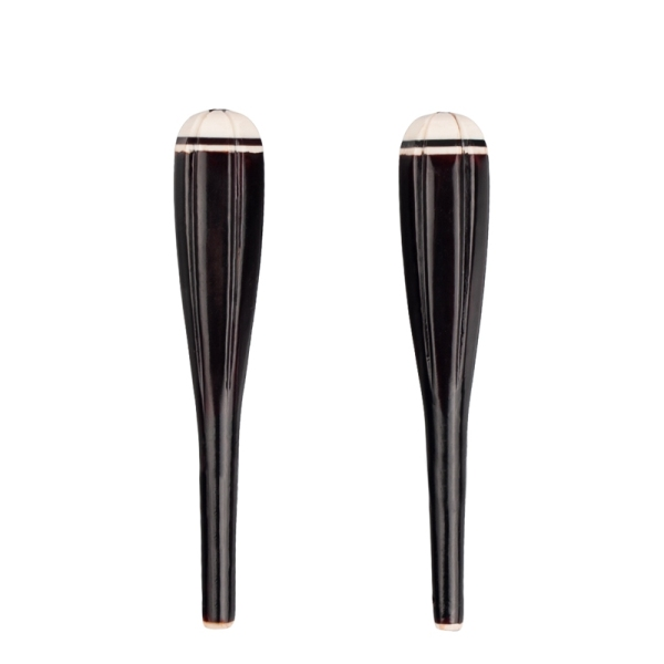 2 Pieces Erhu Shaft Wooden Chinese Erhu Shaft Axis Erhu Tone Erhu Accessories Parts Chinese Traditional Instrument Parts