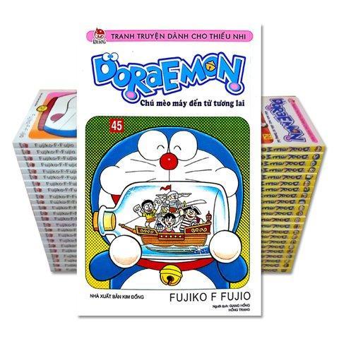 Ưu Đãi Giá cho Doraemon Truyện Ngắn Bộ 45 Tập (trọn Bộ 45 Cuốn)