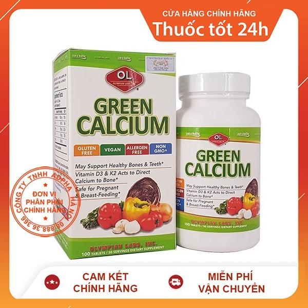 [Lấy mã giảm thêm 30%] Green Calcium – Bổ sung canxi hữu cơ cho bà bầu trẻ em người lớn