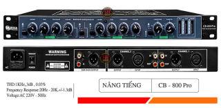 Siêu Phẩm mới nhất Nâng tiếng TD Acoustic CB-800 Ultra .Thiết Bị Lọc Âm Giá Rẻ,Chống Hú Rè Cực Tốt, Cho Ra Tiếng Bass Tress Trung Thực, Âm Thanh Bay Bổng, Mà Bạn Không Phải Đến Phòng Hát, Bh 12 T thumbnail