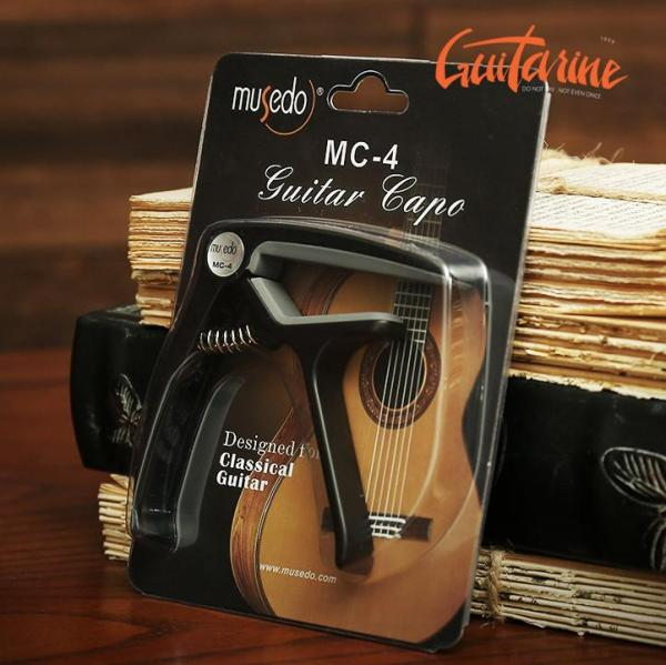Capo Kẹp Đàn Guitar Musedo MC4 Cao Cấp