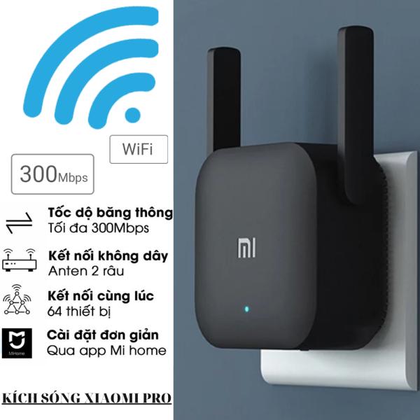 Bảng giá [BH 12 THÁNG] Kích sóng Wifi Xiaomi Repeater Pro - Thiết Bị Mở Rộng WiFi Xiaomi Mi Wifi Repeater Pro 300Mbps ,Chuẩn Wifi: IEEE 802.11b/g/n, 2 Râu WiFi 2*2 DBI Antenna 2.4GHZ Giúp Tăng Khả Năng Phát Sóng Xuyên Tường Phong Vũ