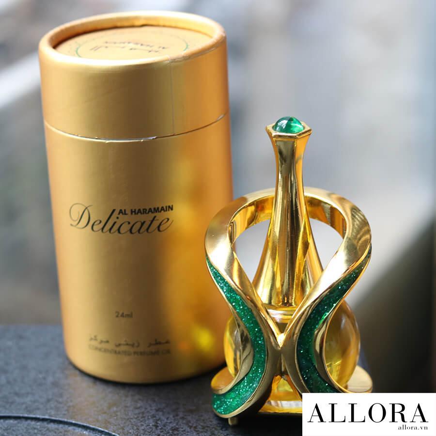 Nước hoa tinh dầu Dubai Delicate hương trái cây, ngọt ngào 24 mL nhập khẩu