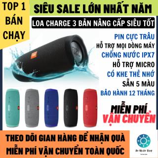 Loa Bluetoooth Charge 3 Bản Nâng Cấp Âm Thanh Đỉnh Cao Pin Trâu, Hỗ Trợ Mic Nghe Gọi Hỗ Trợ Mọi Dòng Máy, Có Khe Thẻ Nhớ Và Usb FM, Bluetooth 5.0 Mạnh Mẽ, Loa bluetooth không dây, loa không dây, loa vi tính thumbnail