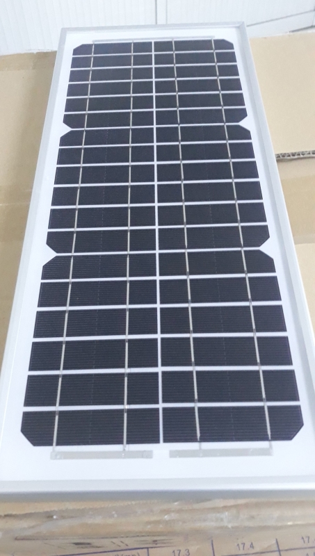 Pin năng lượng mặt trời loại Mono 10W