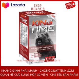 Tăng cường sức khỏe nam giới tăng sinh lý nam kéo dài thời gian quan hệ KING TIME 30 viên thumbnail