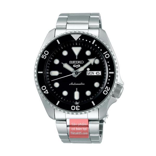 Đồng hồ nam Automatic Seiko 5 sport SRPD55K1 size 42mm dây thép vỏ thép không gỉ chống nước 100m trữ cót 40 tiếng