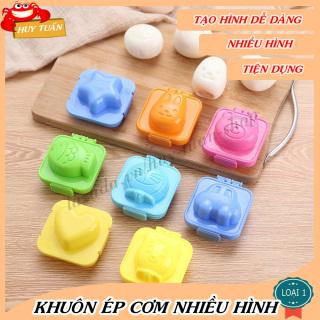 Khuôn ép cơm ép trứng làm bánh nhiều hình dễ thương (KC06) Huy Tuấn thumbnail