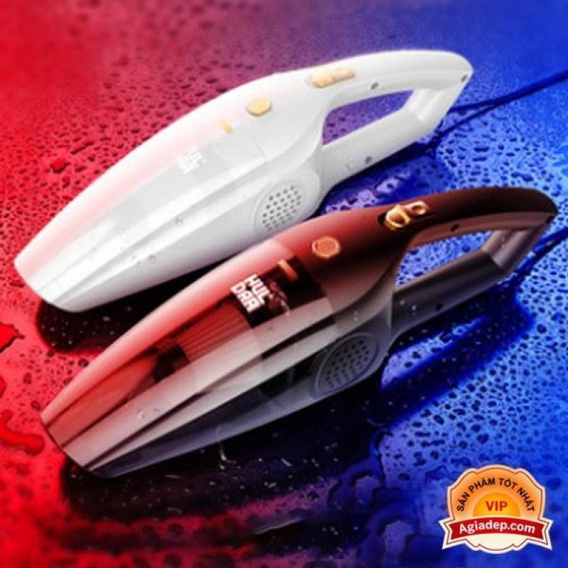 Máy hút bụi oto xe hơi hoặc trong nhà Mini Không dây (có Pin sạc) Tiện dụng - Hàng hiệu Agiadep - Màu đen - 0035