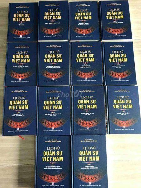 [Trả góp 0%] Lịch Sử Quân Sự Việt Nam (Trọn Bộ 14 Tập)