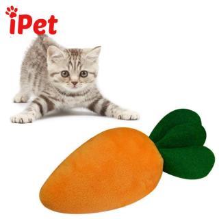 Đồ Chơi Nhồi Bông Hình Củ Cà Rốt Cho Chó Mèo - iPet Shop thumbnail
