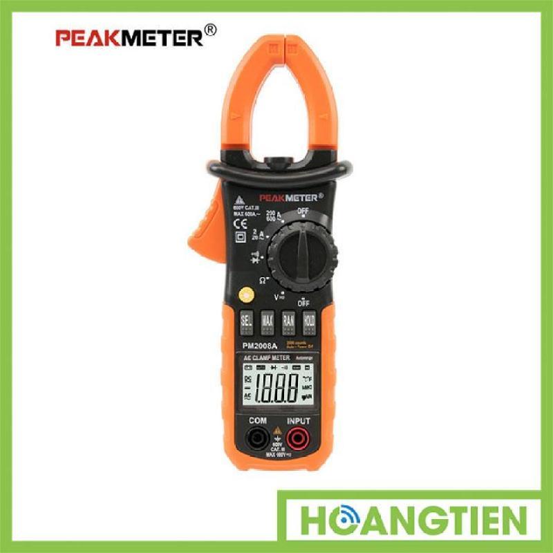 Đồng hồ ampe kìm điện tử PEAKMETER PM2008