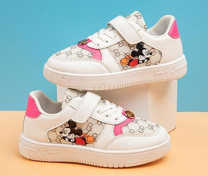 Giày thể thao cho bé gái từ 3 đến 14 tuổi in hình Micky T0027 giá rẻ