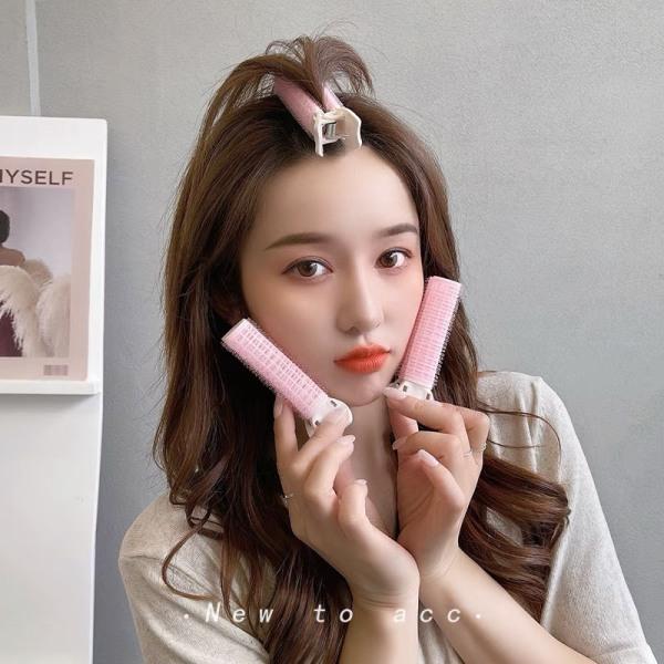 Kẹp tạo làm phồng tóc, tóc mái, tạo kiểu tóc nữ, lô cuốn tóc tự dính nhanh chóng đơn giản rẻ phong cách Hàn quốc hot trend KC31 JOLY giá rẻ
