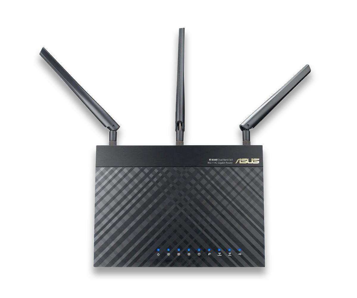 Router Wifi Mesh Asus RT-AC68U Băng Tần Kép AC1900 - Hàng Chính Hãng Đang Khuyến Mại Khủng