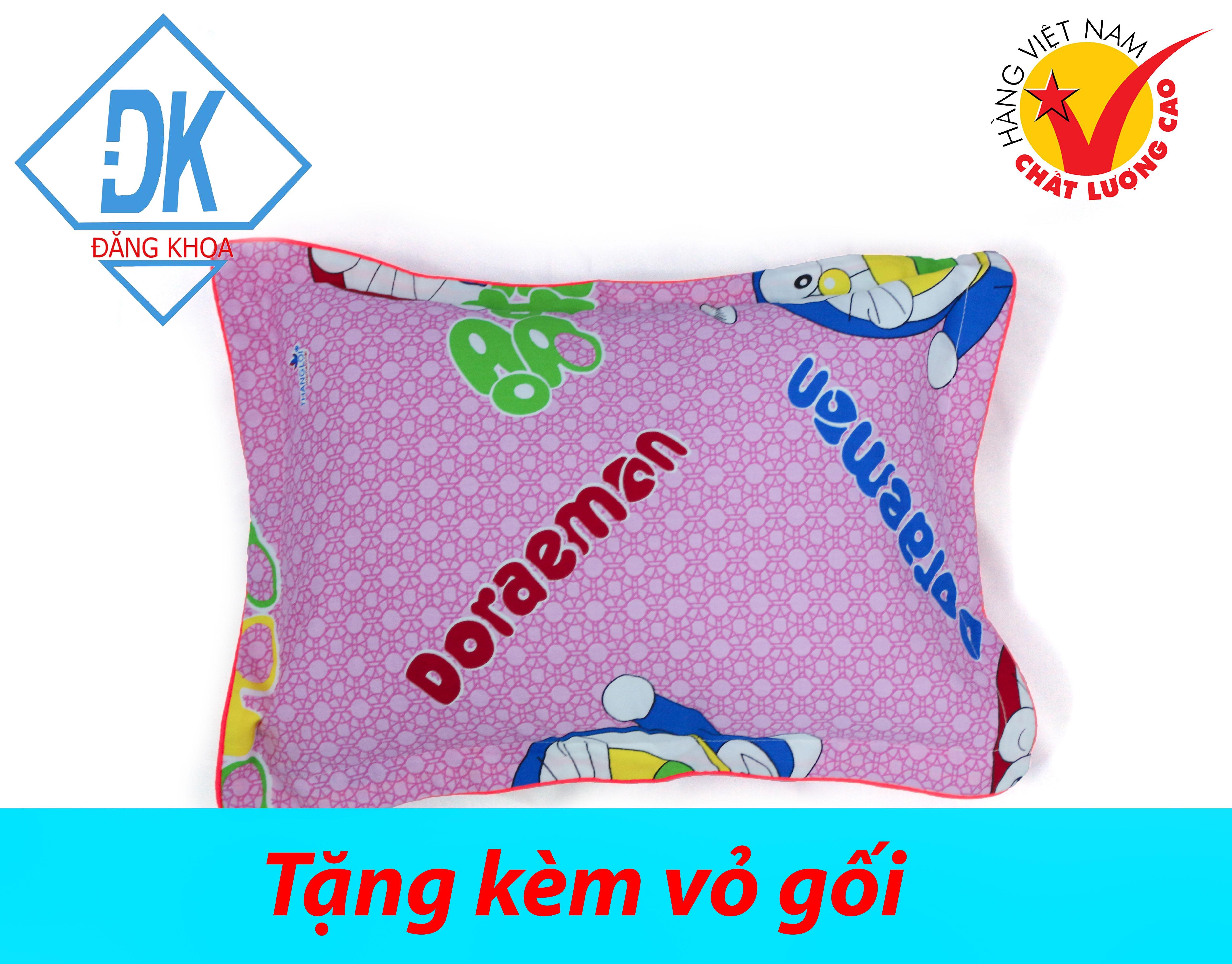 [HCM]1 Gối ngủ cho bé 30x40cm + tặng 1 vỏ gối cotton Thắng Lợi gối hơi hàng VN cao cấp - goi ngu goi hoi chất lượng cao