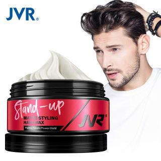 JVR Pomade Cho Nam Giới Tóc Sáp Vuốt Tóc Styling Low Shine Pliable Clay Matte Xịt Giữ Cứng Head Cạnh Kiểm Soát 80 Gam